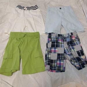 *SALE* 4 Pairs Lot GYMBOREE Boys  Summer Shorts